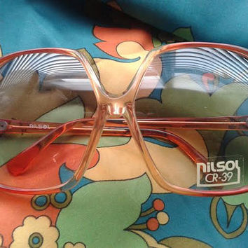 Genuine vintage 70's Oversized sunglasses