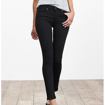 Banana Republic Womens Black Skinny Jean