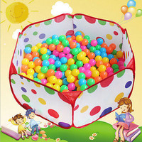 120cm Kids Portable  Pit Ball Pool outdoor indoor Baby Tent Play Hut