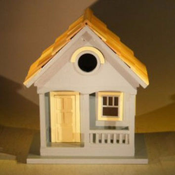 Architectural Birdhouse/Feeder - Yellow(West Coast Dweller)