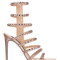 Sergio Rossi Kim Crystal Strappy High Heel Sandals - INTERMIX®