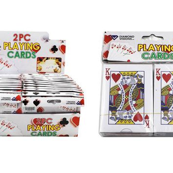 2 pack playing cards Case of 24