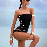 new! sumSwimwear Sexy One Piece Biquinis  Swimsuit For Women Beach wear Secret Brand Bathing Suits free shopping