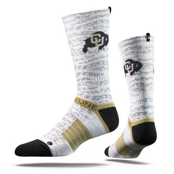 Strideline® 2.0 Buffs Bengal Colorado White Vegas Black Grey Crew Socks NEW