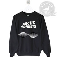 Arctic Monkeys Sweatshirt Jumper Sweater - Pinterest Tumblr Etsy - Unisex S-XXL Unisex Discount dragons tour band 1975 5sos