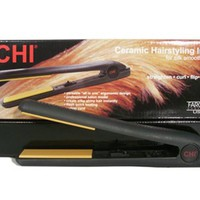 "CHI Original 1"" Ceramic Hairstyling Flat Iron (Black) - CHI10913"