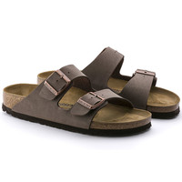 Arizona Birko-Flor Nubuck Stone | shop online at BIRKENSTOCK