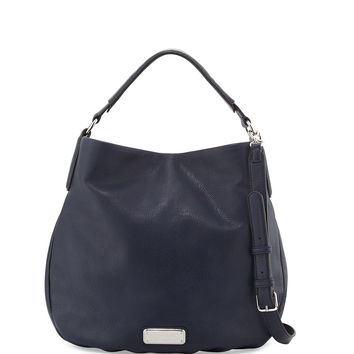 New Q Hillier Hobo Bag, India Ink - MARC by Marc Jacobs