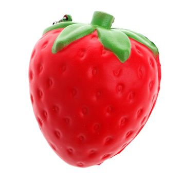 Cute Strawberry Squishy Super Slow Rising Soft Kid Toy Stress Relieve Gift