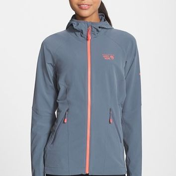 Women's Mountain Hardwear 'Super Chockstone' Hooded Soft Shell Jacket,