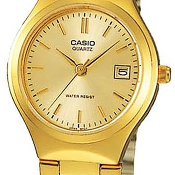 Casio Gold-Tone Stainless Steel Watch LTP1170N-9A