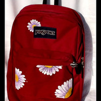 Painted Jansport Backpack