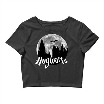 Hogwarts Moon Crop Top