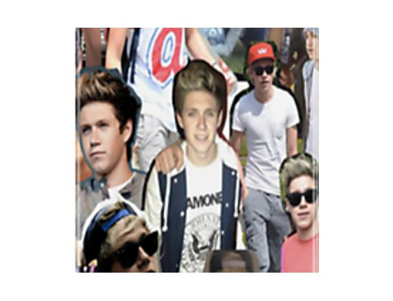 Niall Horan Collage by Hannah Julius
