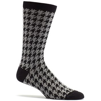 Houndstooth Mens Sock