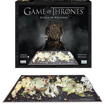 Marvel GOT Puzzle of the Westeros 3D 4D Map