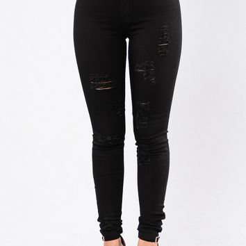 Hit The Freeway Jeans - Black