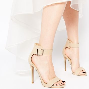 Truffle Collection Rita Barely There Heeled Sandals