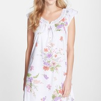 Women's Carole Hochman Designs 'Windswept Flowers' Short Nightgown,