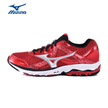 MIZUNO Men WAVE ELEVATION 2 Mesh Breathable Light Weight Cushioning Jogging Running Shoes Sneakers Sport Shoes J1GR151778 XYP357