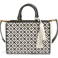 Tory Burch Small Robinson Woven Leather Tote   Nordstrom