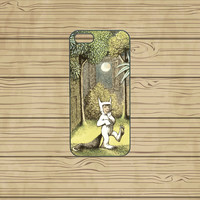 iphone 5C case,iphone 5S case,iphone 5S cases,iphone 5C cover,cute iphone 5S case,cool iphone 5S case--Where the Wild Things Are,in plastic