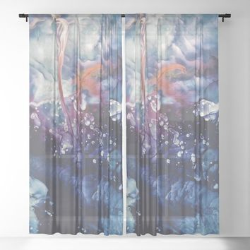 Phoenix Sheer Curtain by duckyb