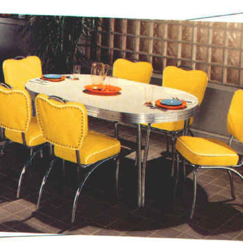Bel Air Retro 50's Diner Set