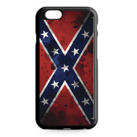 Confederate Rebel Flag Grunge iPhone 6 Case