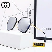 GUCCI Women Fashion New Polarized Sunscreen Travel Personality Glasses Eyeglasses