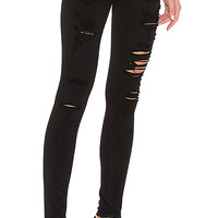 A Gold E Sophie High Rise Skinny in Moonstruck