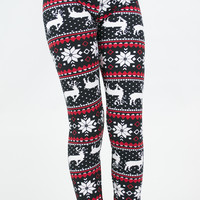 Reindeer Girls Leggings
