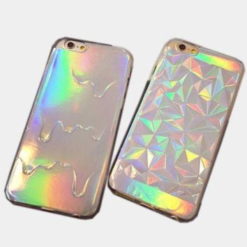 CREYON Day First DIAMOND HOLOGRAM IPHONE CASE