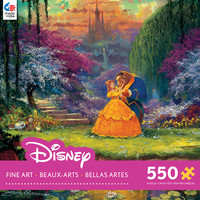 Ceaco Disney - Beauty & the Beast Garden Waltz 550 Piece Puzzle