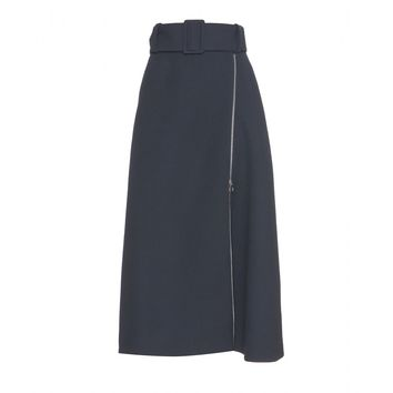 carven - wool skirt