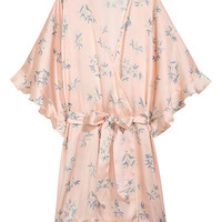Patterned kimono - Light pink/Patterned - Ladies | H&M GB