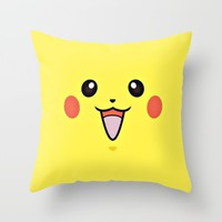 poke go! Throw Pillow by Pink Berry Patterns