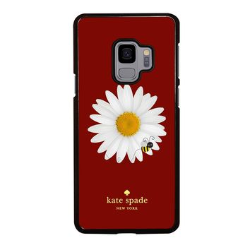 KATE SPADE FLOWER AND BEE Samsung Galaxy S3 S4 S5 S6 S7 S8 S9 Edge Plus Note 3 4 5 8 Case