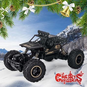 4WD Electric RC Car Rock Crawler Remote Control Toy Cars The Radio Controlled 4x4 Drive RC Car