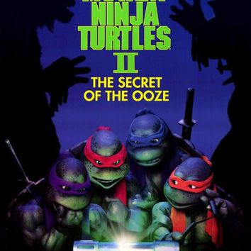 Teenage Mutant Ninja Turtles 2: The Secret of the Ooze 27x40 Movie Poster (1991)