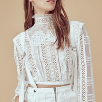 Victorian Tulle Blouse – For Love & Lemons