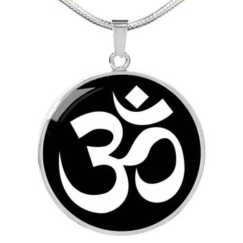 Om Symbol v2 - Luxury Necklace