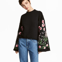 H&M Embroidered Sweatshirt $59.99