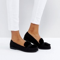 New Look Faux Fur Loafer at asos.com