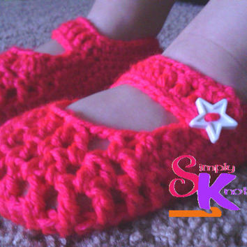 Toddler Slippers, Baby Slippers, Breathable Slippers, Crochet Slippers, Summer Slippers, Handmade Slippers, Photo Prop Slippers