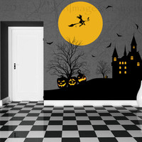 Witches keep vinyl wall decal, home decor, housewares, wall art