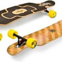 Loaded Tan Tien 2012 Flex 2 Complete Longboard Skateboard With Sticker Pack