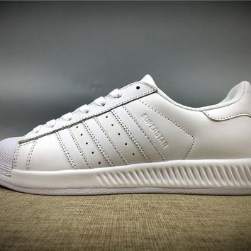 2017 Newest Adidas Originals Superstar All White Sneakers Classic Casual Shoes