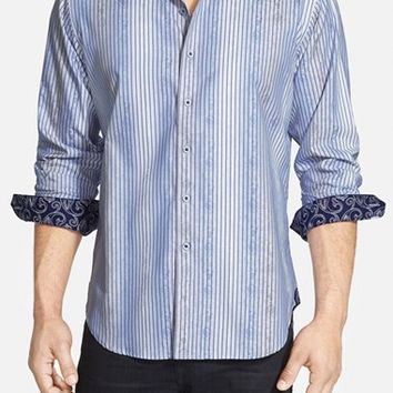 Men's Robert Graham 'Waterworld' Classic Fit Sport Shirt,
