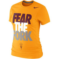 Arizona State Sun Devils Nike Women's Local Slim Fit T-Shirt – Yellow